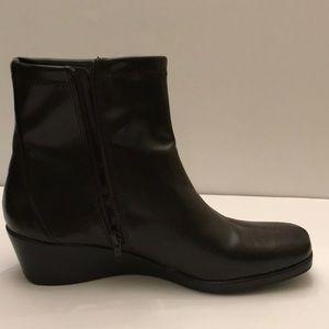 Aerosoles Brown Pentemeter Wedge Boots
